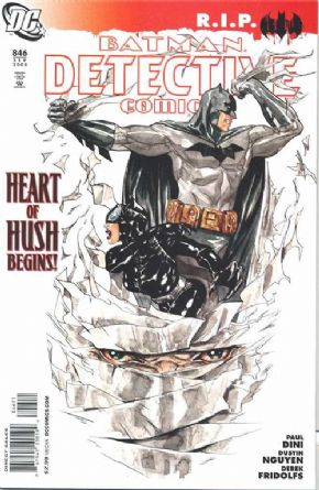 Detective Comics #846 R.I.P. (2008) Batman Hush DC comic book